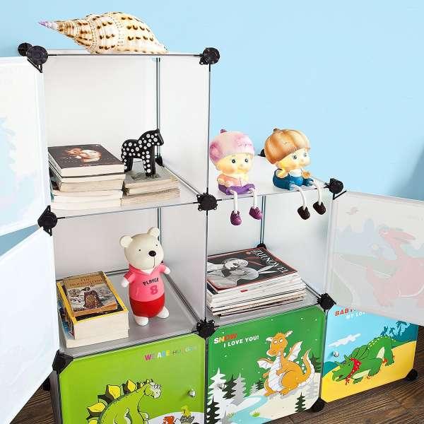 18 id es de biblioth ques originales pour la chambre des enfants guide astuces. Black Bedroom Furniture Sets. Home Design Ideas