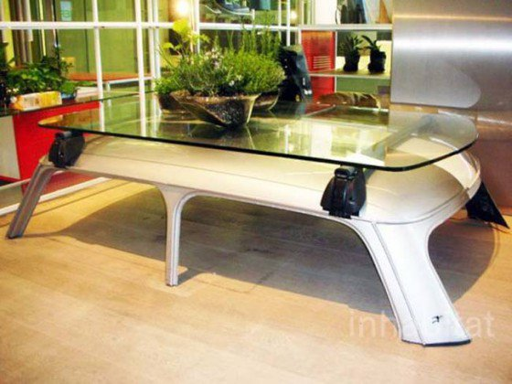 Toit table basse