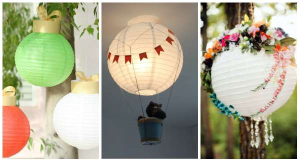 25 id es exceptionnelles pour d corer une lanterne en papier guide astuces. Black Bedroom Furniture Sets. Home Design Ideas