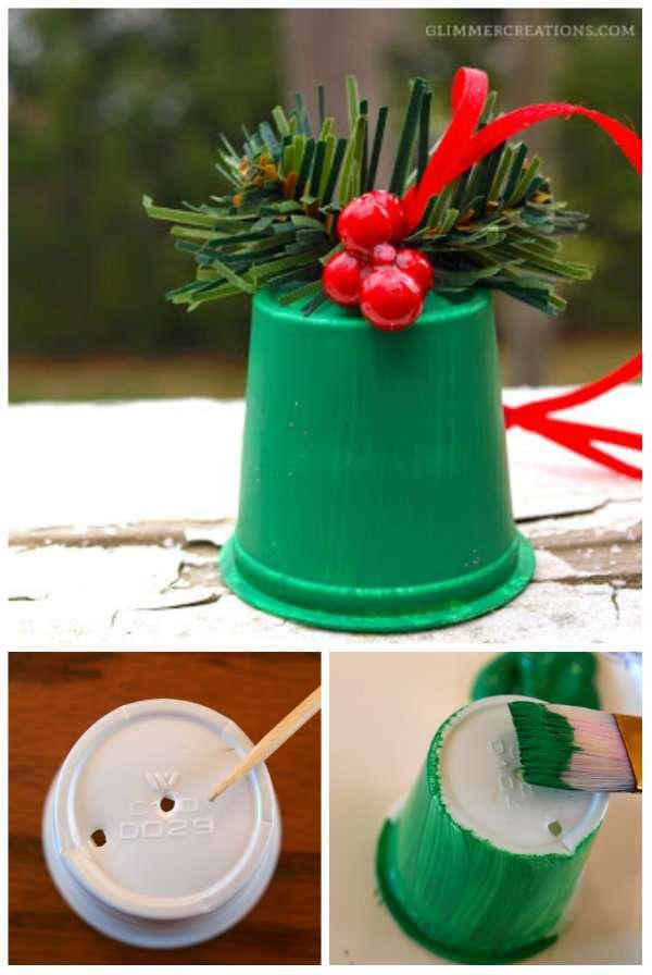 14 Décorations de Noël géniales à fabriquer avec des capsules de ...