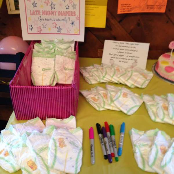 17 id es rigolotes pour r ussir un baby shower guide astuces - Idee pour baby shower ...