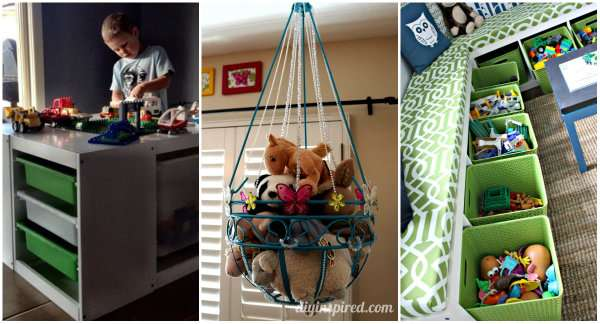 23 id es ing nieuses pour ranger les jouets de vos enfants guide astuces. Black Bedroom Furniture Sets. Home Design Ideas