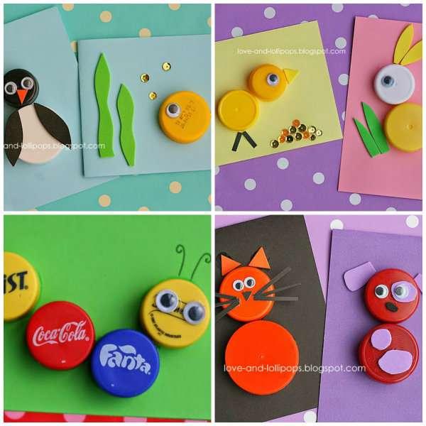 Connu 14 Idées ingénieuses d'activités pour enfants avec des bouchons en  XW07