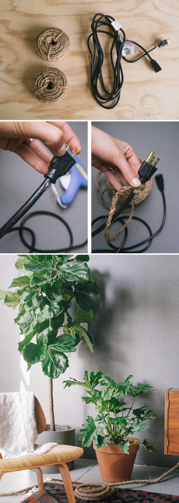 10 astuces g niales pour cacher les fils lectriques qui - Boite pour cacher les fils electriques ...