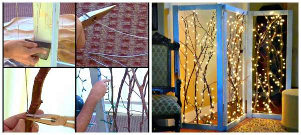 20 super id es d co avec des branches d 39 arbres guide astuces. Black Bedroom Furniture Sets. Home Design Ideas