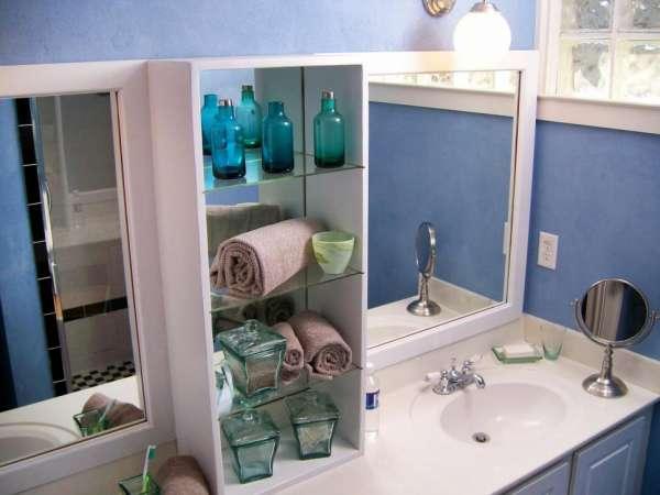16 astuces gain de place pour petite salle de bain guide. Black Bedroom Furniture Sets. Home Design Ideas
