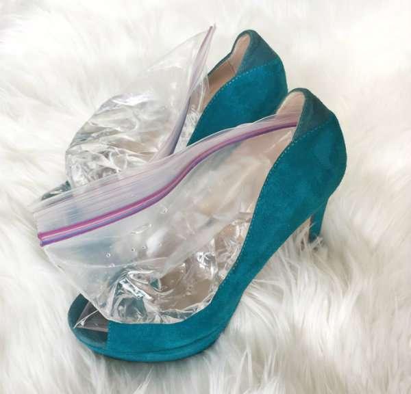 Elargir les chaussures trop petites