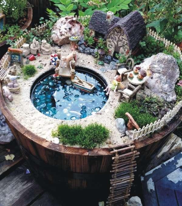 12 id es cr atives de jardins miniatures faire soi m me guide astuces. Black Bedroom Furniture Sets. Home Design Ideas