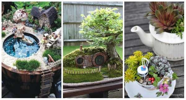 Jardins Miniatures 12 idées créatives de jardins miniatures à faire soi-même - guide
