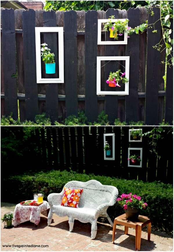 23 merveilleuses id es diy pour d corer votre jardin. Black Bedroom Furniture Sets. Home Design Ideas